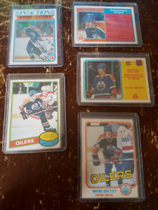 Gretzky cards, good condition