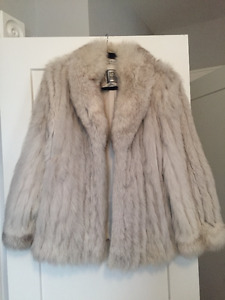 REAL FOX FUR COAT (NEW)
