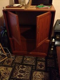 Tv Dvd Video Games console Cabinet..