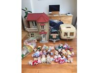 Huge Sylvanian Family collection - will split