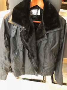 WOMAN'S NWT BARBOUR MOTO JACKET
