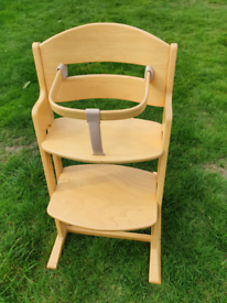 Baby Dan High chair, natural