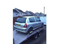 Clio 172 182 spares or repairs