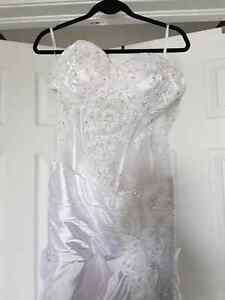 Sexy unique wedding dress