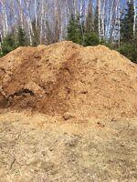 Top soil, Terre à jardin, roche, pailli, roche rivière et sable