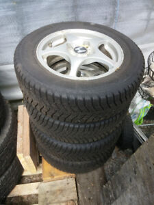 4 Winter Snow Tires Used 1 Season Continental Winter Contact SI