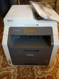 Excellent out of box Brother 9130CW Colour Laserjet MFP+fax+wifi