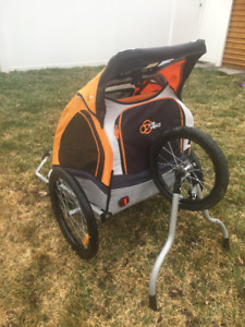 Collapsible Bike Trailer and Jogger