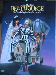 """BeetleJuice"" DVD Movie (Free with Purchase)"