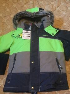 New with tags boys Oshkosh snowsuit size 6