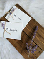 Modern Calligraphy & Wedding Event Services