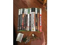 Xbox and Xbox 360 games for sale