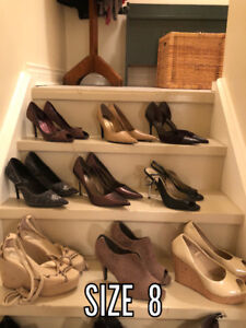 Boots, Shoes, Purses and Scarves