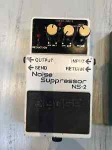 BOSS NOISE SUPPRESSOR NS-2 pedal (Good Condition)