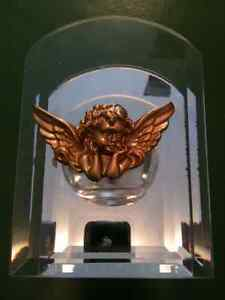 Candle Holder Beveled Candle Holder Glass Mirror Gold Angel lot Kitchener / Waterloo Kitchener Area image 2