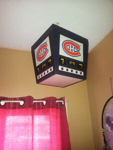 best offer a montreal hanging light fixture and a steering wheel