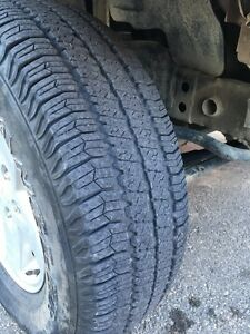 Looking to trade my *5* Goodyear wrangler SR-A's
