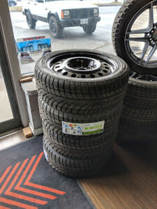 225/65R17 Dodge winter package With steel rims