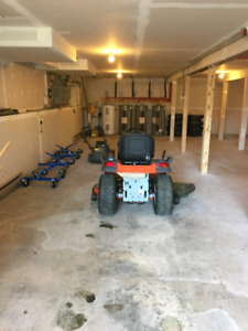 Car and motorcycle storage