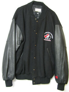 CANADA 1996 WORLD JUNIOR AUTOGRAPHED JACKET IGINLA