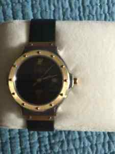 Ladies HUBLOT MDM Geneve Yellow Gold and Stainless Steel Quartz