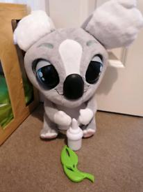 Interactive koala toy