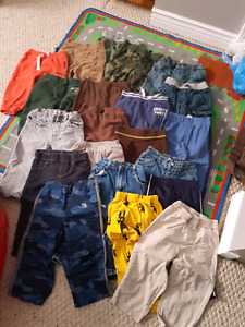Huge lot of boys clothing 18-24m ( 49 pieces )
