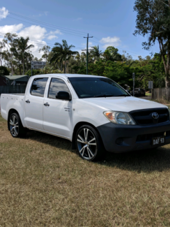 2005 4X2 SR TOYOTA HILUX DUAL CAB V6  Pacific Paradise Maroochydore Area Preview