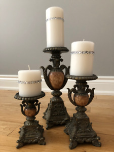 Decorative candleholders for your home!