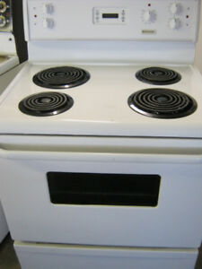 Coil top stoves-ranges $300 & up warranty/delivery/removal