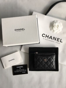 100% Authentic Chanel Card/Coin Purse