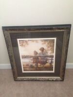 Trisha Romance Painting in a Beautiful Frame for $500