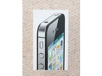 iPhone 4S 16GB in black - unlocked and boxed