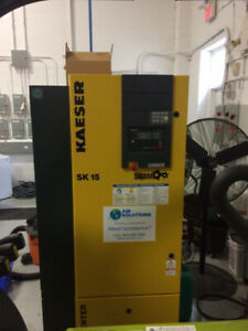 Kaeser SK 15 Rotary Screw Compressor