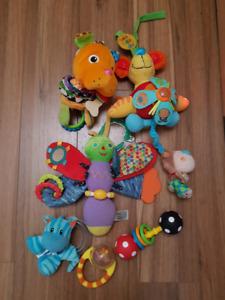 Jouets pour bébé (lot de 6 morceaux) - Baby toys 6 pieces