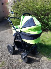 Multifunctional pram/stroller/car seat 3 in 1