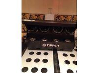 American dj zipper led disco light