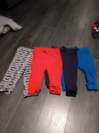 Baby boy trouser bundle 3-6 months. 9 pairs