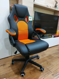 Gaming Computer chair Brand-new - Orange/Black