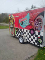 Food Grill Trailer