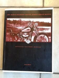 service  manual 2001 heritge softail harley