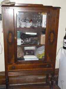 China Hutch Cabinet Older Peterborough Peterborough Area image 2
