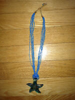 STARFISH ITALIAN GLASS NECKLACE FROM ITALY
