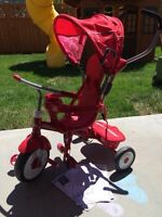 4-in-1 radio flyer trike (barely used- like new!)