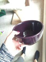 25 piece ikea dish set! Dark purple color