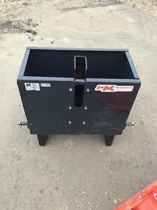 3 PT Hitch Weight Box