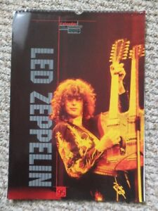 1995 Led Zeppelin Calendar
