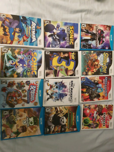 Nintendo Games WiiU, Wii, DS, Guitar Hero Rock Band