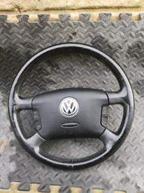 VW golf mk4 multi functioning steering wheel