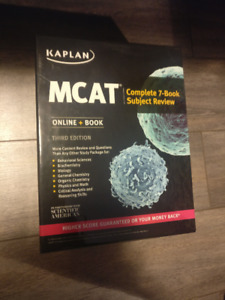 Kaplan MCAT Complete 7-Book Subject Review (3rd Ed)